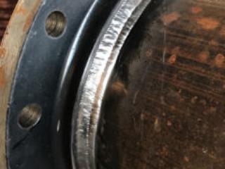 Weld on flange Used Steel Pipe